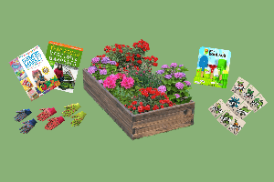 garden with kids kit