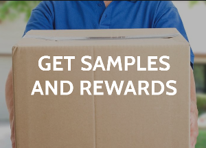 GET SAMPLES AND REWARDS
