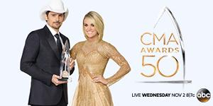 Getaway for 2 to the CMA Awards ($1,960)