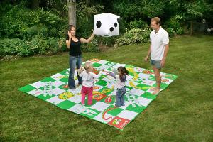 Giant Snakes and Ladders & Giant Get Knotted Prize Pack ($160)