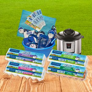 gift basket and instant pot