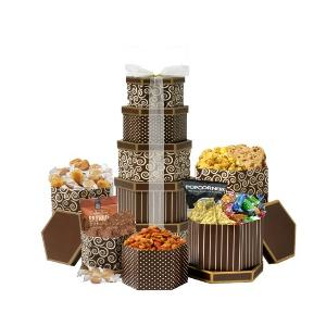 Gift Basket filled with Snacks