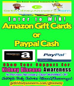 gift card and cash giveaway
