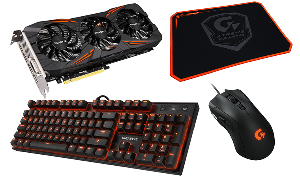 Gigabyte GTX 1070 G1 Gaming Bundle