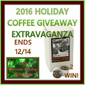 Gingerbread Man Coffee Giveaway