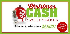 Ginny's Christmas Cash Sweepstakes
