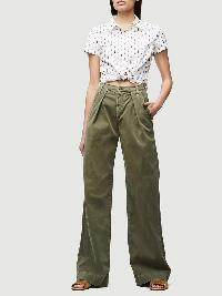 girl modelling pants