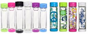 Glasstic Shatterproof Glass Water Bottle