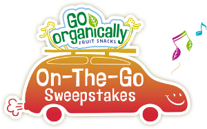 Go Organically Fruit Snacks On The Go Sweepstakes Giveaway