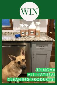 Got Pet Smells? Win a $75 Prize Pack of TriNova All-Natural Products!