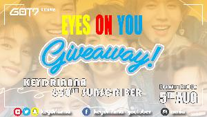 Got7 eyes on you giveaway!