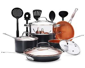 Gotham Steel 15 Piece Cookware Set