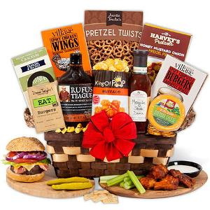 Gourmet Gift Baskets Barbecue Enthusiast Gift Basket ($99.99)