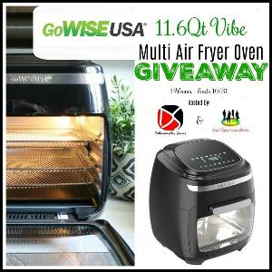 GoWISE USA 11.6 Qt Vibe Multi Air Fryer Oven Giveaway image