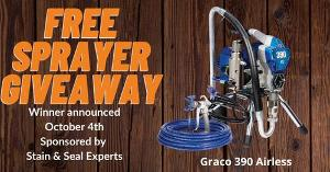 Graco Airless giveaway