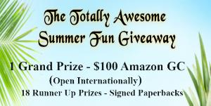 Grand Prize: $100 Amazon Gift Card! 18 runner up prizes!