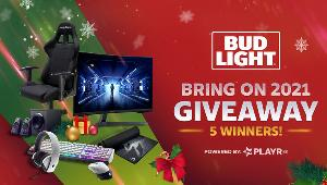 """Grand Prize :2 x Samsung 32"""" G5 Odyssey Gaming Monitor, DXRacer Formula Series Gaming Chair, Alienware 510K Keyboard,Alienware 7.1 Gaming Headset & Alienware AW610M Mouse!!"""