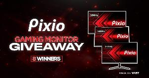 Grand Prize: 280Hz Gaming Monitor; 2nd Prize: 165Hz Curved Gaming Monitor & 3rd Prize: 144Hz Gaming Monitor!!