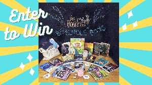 Grand Prize includes over 15 brand new books!Plus Books That Make You gear, The BookFest prizes, and other goodies! Second Place Winner: 1 Owl Crate Box; 3rd Place Winner:Amazon Gift Card ($50)!