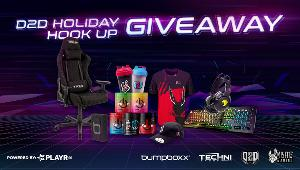 Grand prize includes :Techni Sport TSF44 Black Echo Series Gaming Chair ,ROCCAT® Vulcan Pro Optical RGB Gaming Keyboard ,ROCCAT® Elo 7.1 Air RGB Gaming Headset ,Misfits Gaming 2020 Pro Jersey...+ much more!!