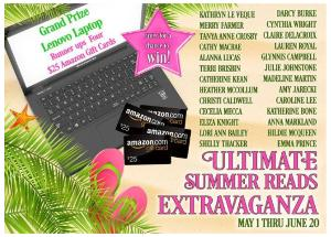 GRAND PRIZE: LENOVO LAPTOP & RUNNERS-UP: (4) $25 AMAZON GIFT CARDS!!
