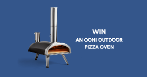 """Grand Prize: One (1) winners will receive [one (1) OONI Pizza Oven] (approximate retail value or """"ARV"""": £250.00)"""