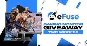 Grand Prize: Pixio 144Hz Curved Gaming Monitor; Second Prize: Pixio Portable Monitor!!