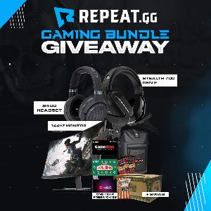 Grand Prize: Stealth 700 Gen 2 Wireless Headset, $100 Gift Card to GameStop, 12 months of Free Redbox Movies, $100 Gift Card for Papa John's....+ lots more!