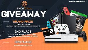 Grand Prize winner gets their choice of gaming console!!