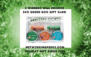 Green Goo Holiday Gift Card Giveaway