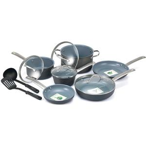 GreenLife Non-Stick Gourmet 12-Piece Cookware Set (ARV $99.99)