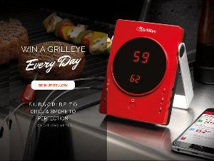 GrillEye Bluetooth Grilling & Smoking Thermometer