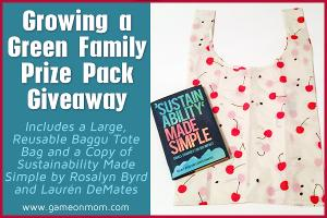Growing a Green Family Prize Pack Giveaway