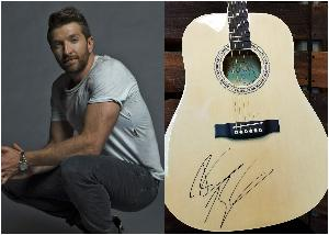 Guitar Autographed by Brett Eldredge ($250)