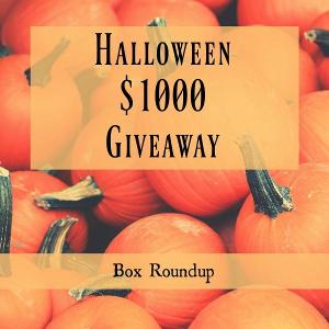 Halloween giveaway $1000 on Box Roundup