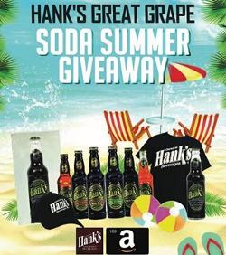 Hank's Great Grape Soda Summer Giveaway