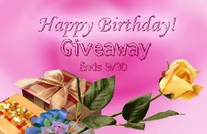 Happy Birthday Giveaway – $900+ RV in Prizes