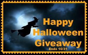 Happy Halloween Giveaway - Over $1000 in Prizes!