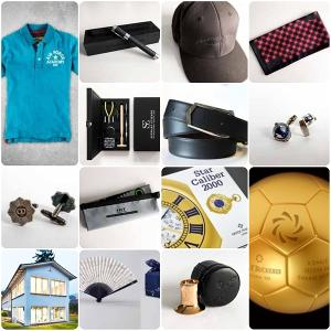 hat shirt wallet fan cufflinks house