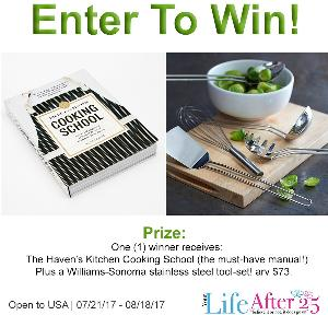Haven's Kitchen Cookbook Prize Pack Giveaway