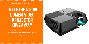 HD Video Projector Giveaways