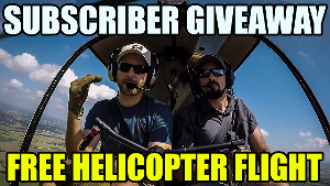 Helicopter Flight Lesson Giveaway