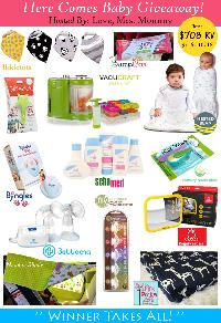 Here Comes Baby Giveaway
