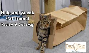 Hide and Sneak Cat Tunnel Giveaway