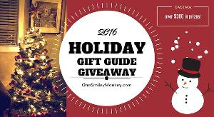 Holiday Gift Guide Prize Pack Giveaway