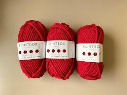 Holiday Red Super Chunky Yarn Bundle Giveaway