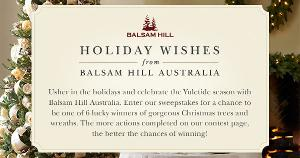 Holiday Wishes from Balsam Hill Australia