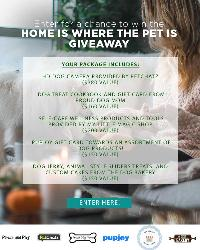 Home is Where the Pet is! Giveaway!