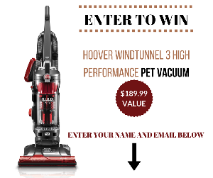 Hoover WindTunnel 3 High Performance Pet Vacuum ($189.99)