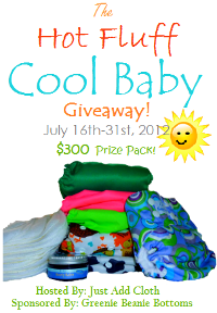 Hot Fluff Cool Baby Giveaway